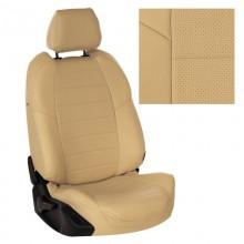 Чехлы на сиденья для Nissan Note Бежевый цвет