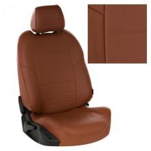 Чехлы на сиденья для Suzuki SX-4 Коричневый цвет