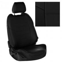 Чехлы на сиденья для Nissan Note Черный цвет