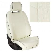 Чехлы на сиденья для Nissan Note Белый цвет