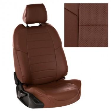 Авточехлы для Vesta CNG цвет шоколад