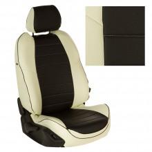 авточехлы для Lada Niva с 2020 бело-черные