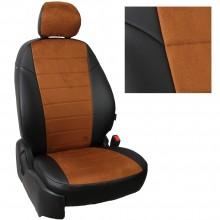 авточехлы для Lada Niva с 2020 коричневая алькантара