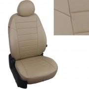 Чехлы на сиденья для Lada Niva Travel цвет темно-бежевый