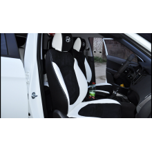 Каркасные чехлы из эко-кожи и алькантары на Hyundai Creta